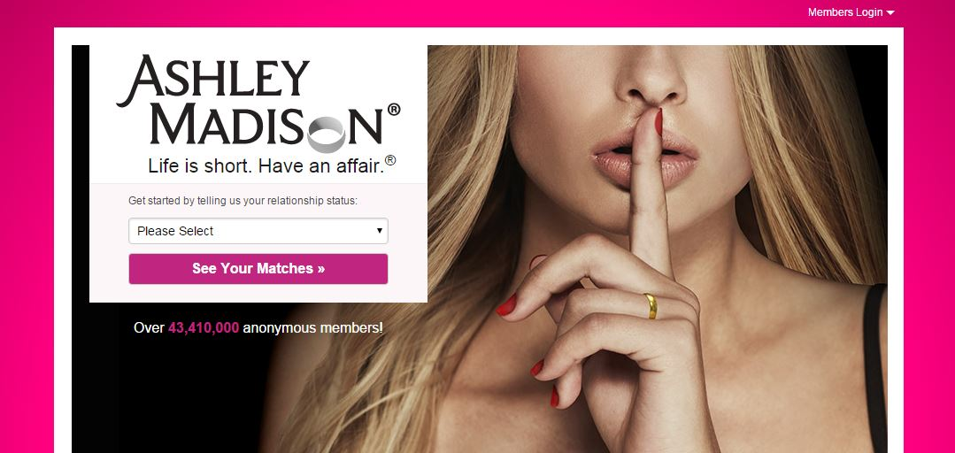 Hungrig Frau Ashley Madison bösartige Bür